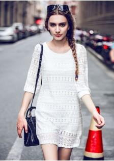 JNS9904 dress white
