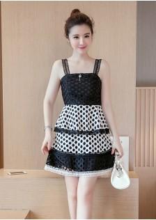 GSS9199 top+skirt creamy-white*