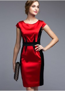 GSS7138 office-dress red
