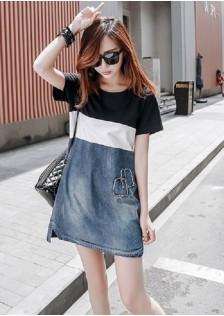JNS8832 dress black