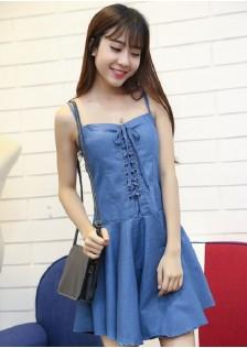JNS6023 dress light-blue