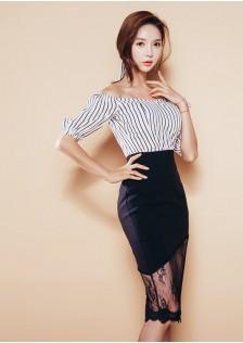 GSS369 top+skirt