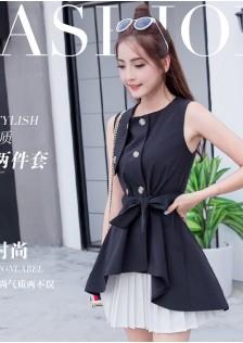JNS8909 top+skirt black $24.00 48XXXX2585815-BT2LV257