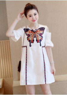 JNS9863 dress white