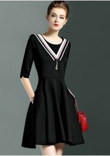 JNS1677 dress black