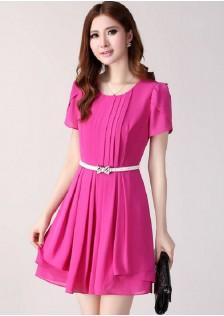 JNS9972 dress rose