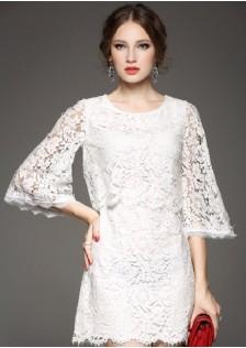 JNS6109 dress white $21.80 38XXXX2789697-BT2LV211-C