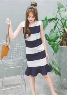 JNS9718 dress blue