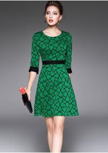 HYB6196 office-dress green $16.30 55XXXX3040384-LA2LVA10