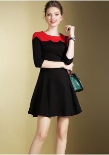 HYB5618 dress black $15.20 50XXXX2884486-SD2LV225-A