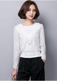 HYB6017 blouse white $11.50 38XXXX2643347-SD4LV461