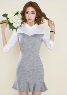 HYB391 office-dress gray $19.30 69XXXX2883943-LA2LVA07-B