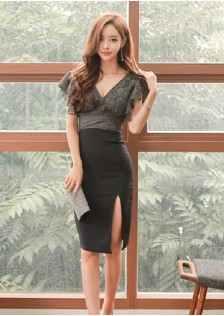 HYB383 office-dress $19.30 69XXXX2605693-LA2LVA07-B