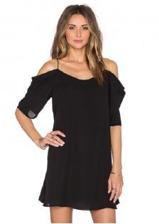 HYB8378 dress black