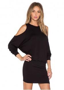 HYB6050 dress black