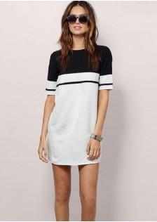 HYB6105 dress white $12.00 35XXXX2999539-SD3LV343-A1