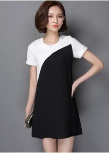 HYB6637 dress black $12.00 35XXXX2021857-SD1LV130-B