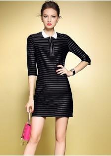 HYB671 office-dress black