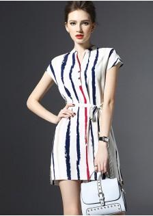 HYB8015 office-dress white