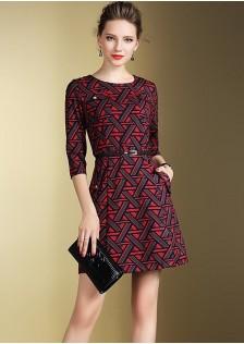 HYB691 office-dress