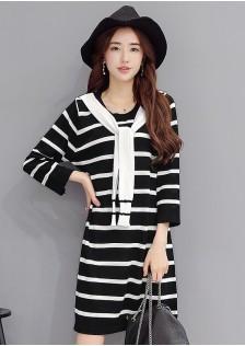 HYB5173 dress black