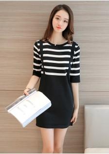 HYB6002 dress black