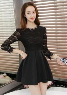 HYB8296 dress black