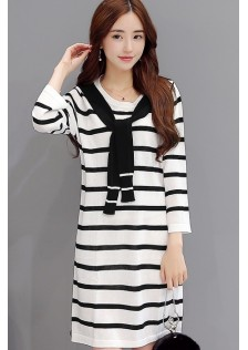 HYB5173 dress white