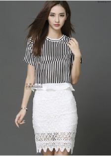 HYB7143 top+skirt
