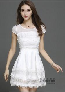 HYB7130 dress white