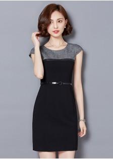 HYB7262 dress black