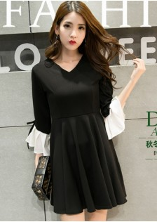 HYB6257 dress black