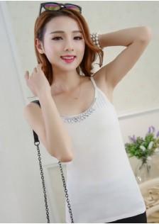 HYB2033 top white -