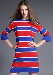 HYB5026 dress red -