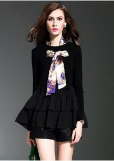 HYB1665 blouse black-