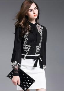 HYB5991 blouse black-